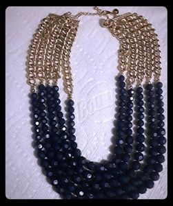 Womens beaded layered Necklace
